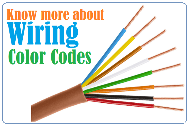 Wiring Color Codes Usa Uk Europe, Color Code For Marine Wiring