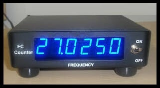 A view of Frequency Counter