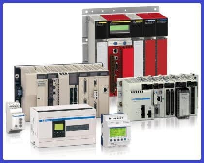 Various PLC equipments together