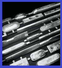 Different shapes of Sacrificial anodes