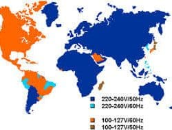 Electricity around the world