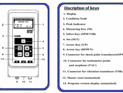 How to operate Shock Pulse tester