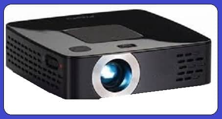 Media player pico projector image