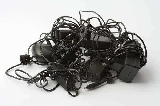 Mess of Charging Cables