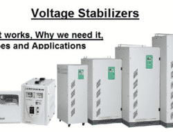 What is Voltage Stabilizer – Why we need it, How it works, Types and Applications