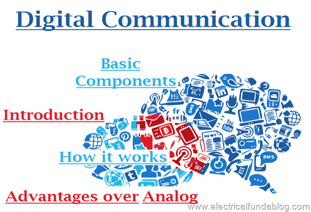 Digital Communication - Introduction, Basic Components and Advantages