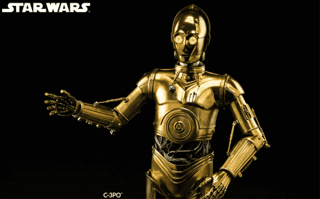 6 C3PO in Star Wars