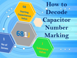 Capacitor Number Marking – How to Decode with Example