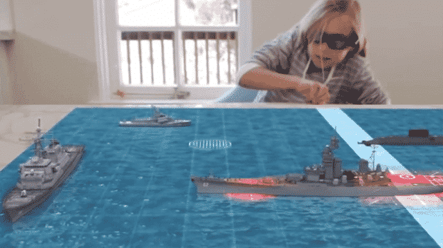 Projected Augmented Reality
