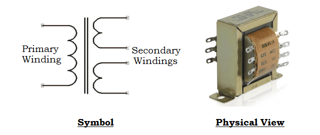 Step Down Transformer - Working Principle, Equation, Types