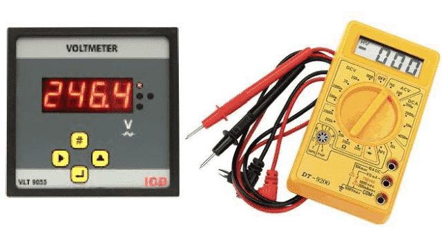 Digital Voltmeter and Multimeter