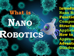 Nano Robots – Component, Powering & Manufacturing Method, Application