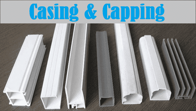 What is Casing Capping Wiring - Installation, Advantages ... Wiring And Its Types on voltage types, software types, trim types, painting types, power cord types, fuel types, motor types, computer types, camera mount types, oil types, installation types, three types, transformers types, busbar types, filter types, paint job types, socket types, testing types, headlight types, frame types,