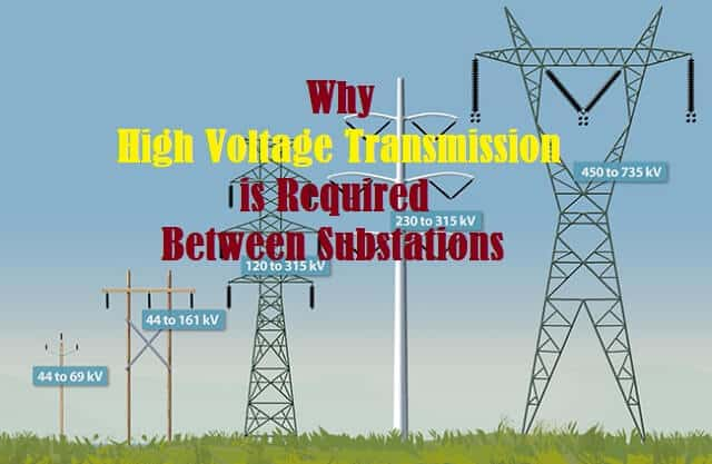 Why High Power Transmission is Required Between Substations